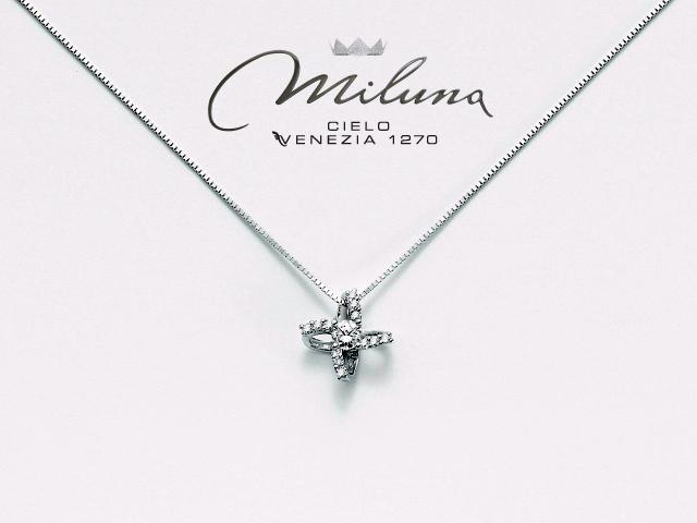 informazioni per c335c 97403 Miluna catena con ciondolo diamanti